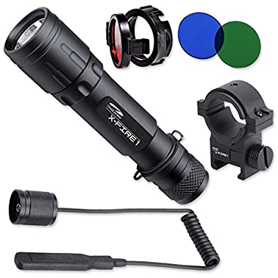 LiteXpress LXL004001 X-Fire 1 LED aluminium flashlight - up to 321 Lumens from LiteXpress Germany GmbH