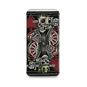 Mobicture Skull Abstract Premium Printed Case For Samsung S7 Edge