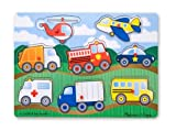 Melissa & Doug Vehicles Peg