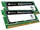 Corsair Apple Certified 16GB (2x8GB)  DDR3 1333 MHz (PC3 10666) Laptop Memory (CMSA16GX3M2A1333C9)