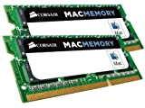 Corsair CMSA16GX3M2A1333C9 Apple Mac 16GB (2x8GB) DDR3 1333Mhz CL9 Apple Certified SODIMM Kit