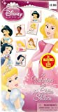 Disney Princess 34 Valentines with 35 Glitter Stickers
