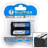 Blumax ® Sony NP-FM70, NP-QM70 Battery for HDR-HC1E, HDR-SR1, DCR-TRV75E, DCR-TRV80E, DCR-TRV828E, DCR-TRV830E, DCR-TRV940E, DCR-TRV950E, HDR-UX1E, HVR-A1, NSC-GC1