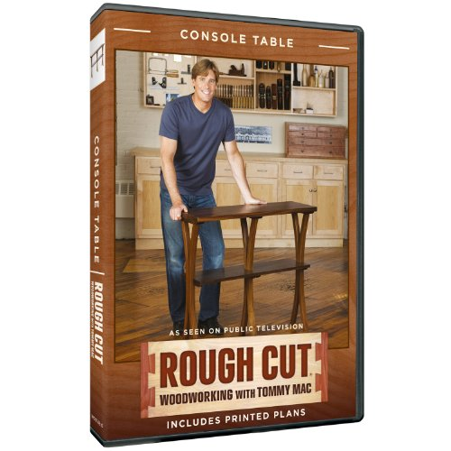 Rough Cut - Woodworking Tommy Mac: Console Table front-312330