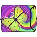 Designer Sleeves 13-Inch 60's Butterfly Laptop Sleeve (13DS-60B)