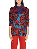 Marc Cain Collections Jersey (Rojo / Azul)