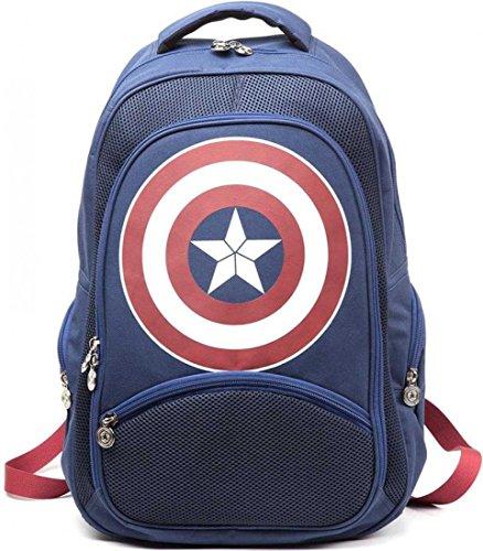 bp251007cap Marvel Captain America Shield Logo Zaino