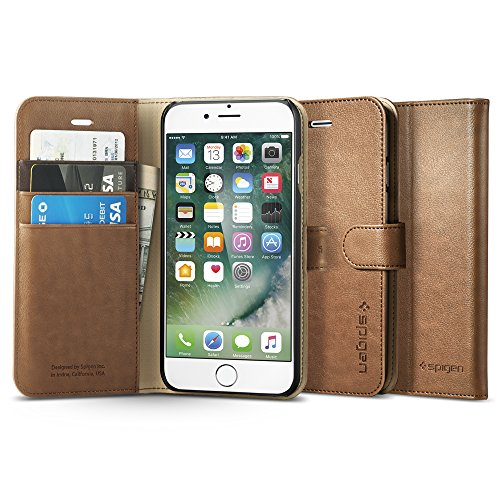 iPhone-7-Case-Spigen-Wallet-S-Stand-Feature-Brown-Premium-Wallet-Case-with-STAND-Flip-Cover-for-Apple-iPhone-7-2016-042CS20546