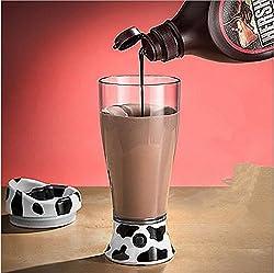 New Skinny Moo Self Stirring Mug Ultimate Chocolate Milk Mixer Coffee Stirring Cups Juice Mixer Stirring Cups caneca