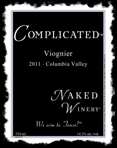 2011 Naked Winery Complicated Viognier 750 Ml