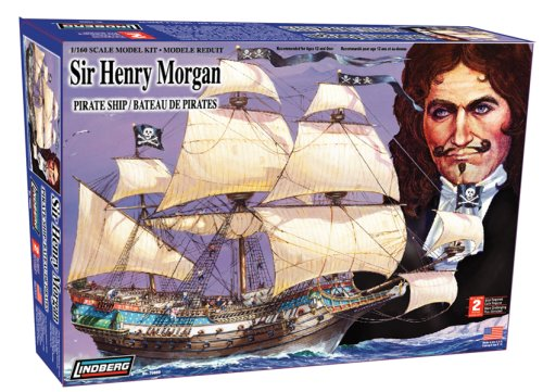 Lindberg 1/160 scale Sir Henry Morgan