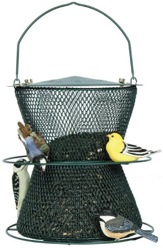 No/No  Forest Green Hourglass Bird Feeder  GHG00318