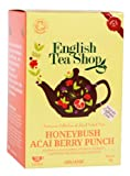 English Tea Shop Organic Honey Bush Acai Berry Punch Super Teas (Pack of 3, Total 60 Tea Bags)