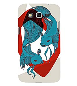 EPICCASE Two fishes Mobile Back Case Cover For Samsung Galaxy Grand Neo Plus (Designer Case)