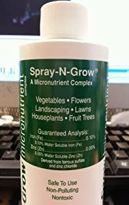 Spray-N-Grow CSNG Micronutrients Complex, 8oz