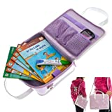Ultimate Addons Violet Girls Kids Handbag Storage Case suitable for holding LeapFrog LeapReader