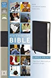 NIV Thinline Bible (Large Print Leather)