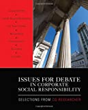 Issues for Debate in Corporate Social Responsibility: Selections From CQ Researcher deals and discounts