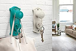 Doorman Key Holder & Hook By Ototo Design - Turquoise