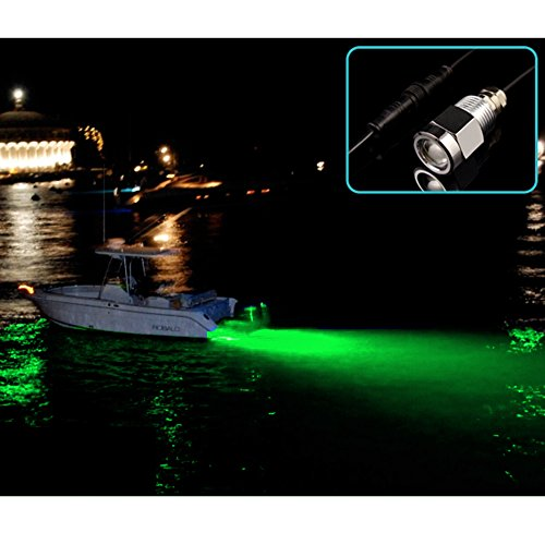AGPtek Underwater Green 6 LED 1/2
