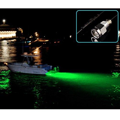 AGPtek Underwater Green 6 LED 1/2