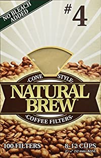 Natural Brew Coffee Filters - 100 ct.