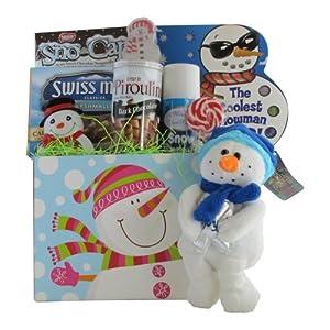 Christmas Gift Basket for Children - Let It Snow