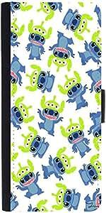 Snoogg Alien Blue Cartoon Cutedesigner Protective Flip Case Cover For Samsung...