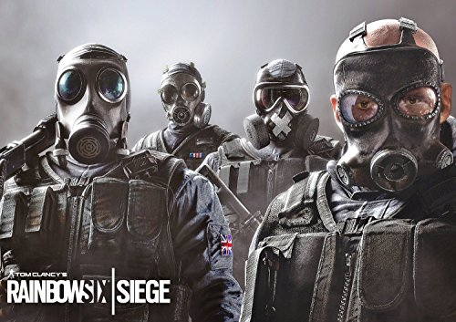Tom Clancy's Rainbow Six Siege Poster (Ps4 Merchandise compare prices)
