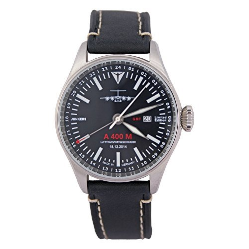 Junkers 6164-2/a 400 M - Reloj de pulsera analógico para hombre edición limitada