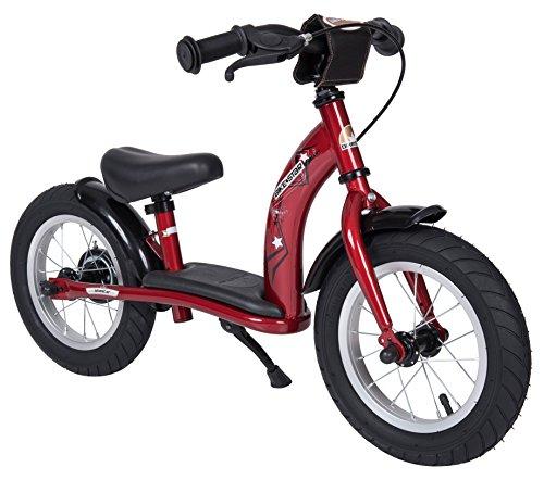 BIKESTAR® 30.5cm (12 pouces) Vélo Draisienne pour enfants ? Edition Classic ? Couleur Rouge