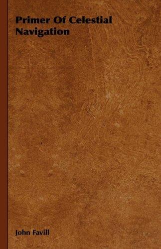 Large book cover: Primer Of Celestial Navigation