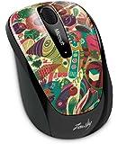 Microsoft Limited Edition Artist Series 3500 Wireless Mobile Mouse, Zansky (GMF-00258)