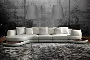 Prime 6 109 Rounded Corner Sectional Sofa With White Bonded Pdpeps Interior Chair Design Pdpepsorg