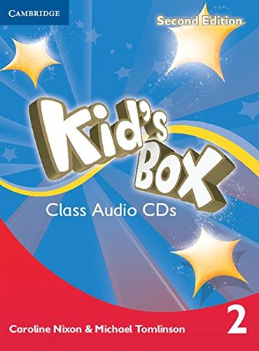 Kid's Box Level 2 Class Audio CDs (4) Second Edition