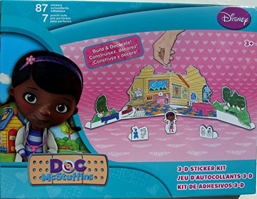 Disney Doc McStuffins 3-D Sticker Kit - 1
