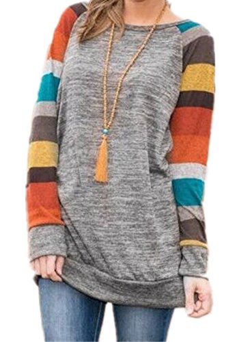 Poulax Long Sleeve Tunic Sweatshirt