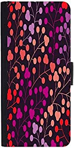 Snoogg Seamless Pattern With Leaf Copy That Square To The Side And Youll Get Seaml Designer Protective Phone Flip Case Cover For Obi Worldphone Sf1