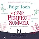 One Perfect Summer Audiobook by Paige Toon Narrated by Nicky Diss