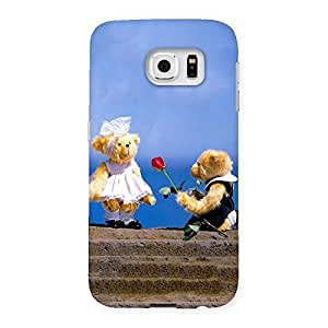 Proposal Teddy Multicolor Back Case Cover for Samsung Galaxy S6