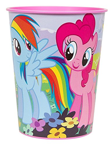 Amscan My Little Pony Plastic Cup, 16-Ounce