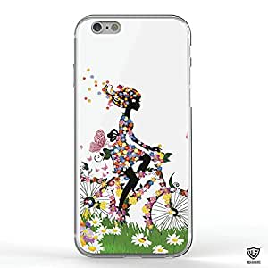 MoArmouz - Apple iPhone 6/6S Girl Riding a Bicycle Case - Back Case Cover / Mobile Accessories / Cases & Covers / iPhone Covers / PRINTED BACK COVER