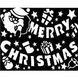 クリスマススノースプレー用型紙A2サイズMCタイトルWG-4785