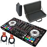 Pioneer DDJ-SX2 DJ Controller for Serato DJ w/ Magma Case & XLR Cables - Bundle