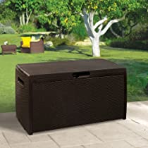 Big Sale Keter 207818 Rattan 70 Gallon Deck Box