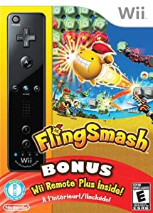 Fling Smash with Black Wii Remote Plus - Standard Edition