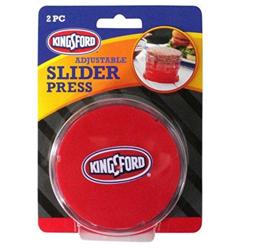 KINGSFORD Adjustable Slider Burger Press