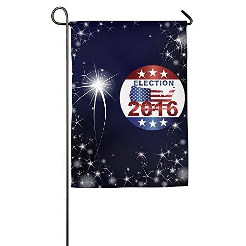 Show Time Presidential Election 2016 Decorative Garden Flag Pub Flag 12*18inch