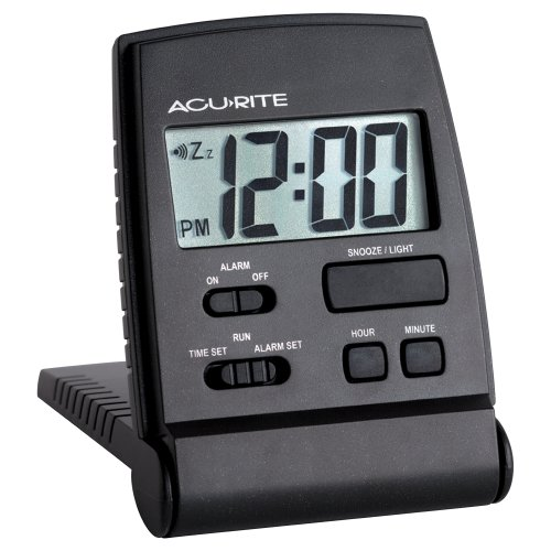 Chaney Instruments Sojourn LCD Travel Alarm Clock