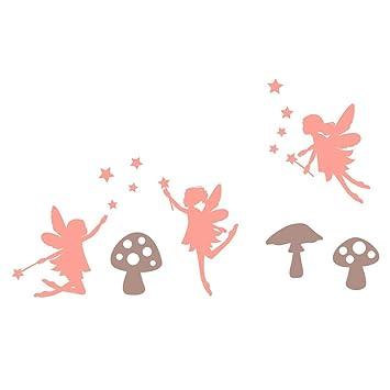 F e et champignon champignon stickers muraux par - Ou trouver stickers muraux ...